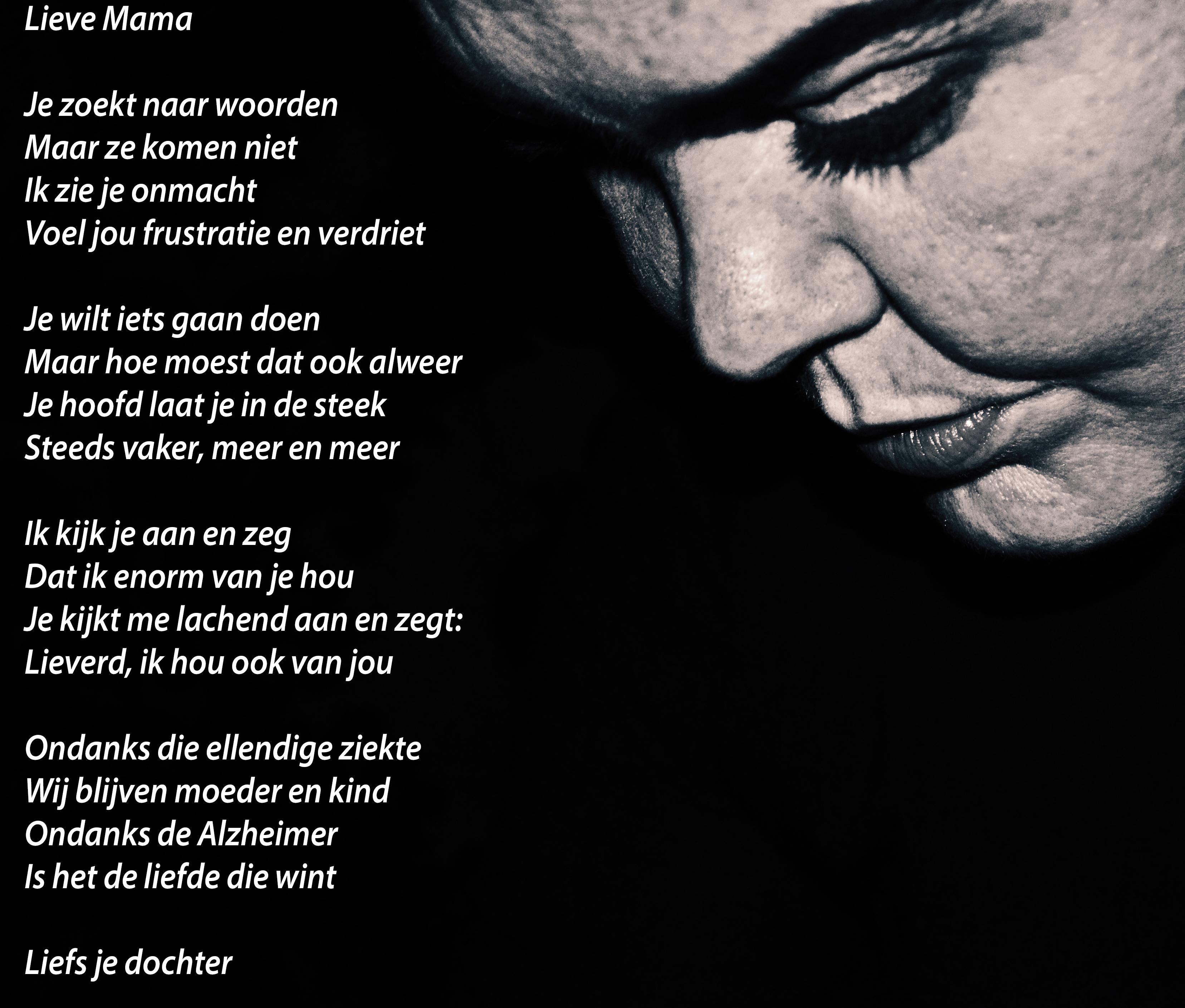 Wonderbaar Mijn Alzheimer Gedicht   dyezzie.nl VJ-88